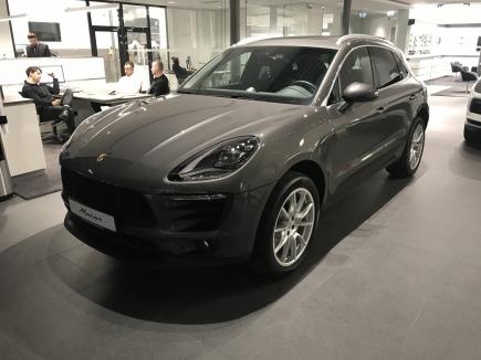 Porsche Macan S Diesel hatchback