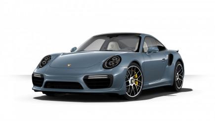 Porsche 911 Turbo S Coupe sportowy / coupe