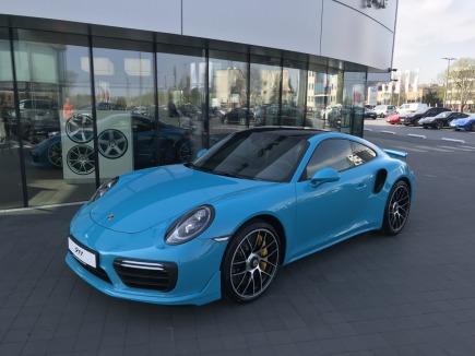 Porsche 911 Turbo S sportowy / coupe